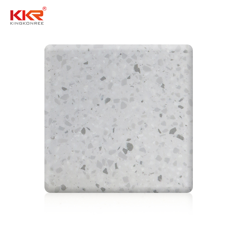KKR Stone color solid surface factory superior bacteria for kitchen tops-1