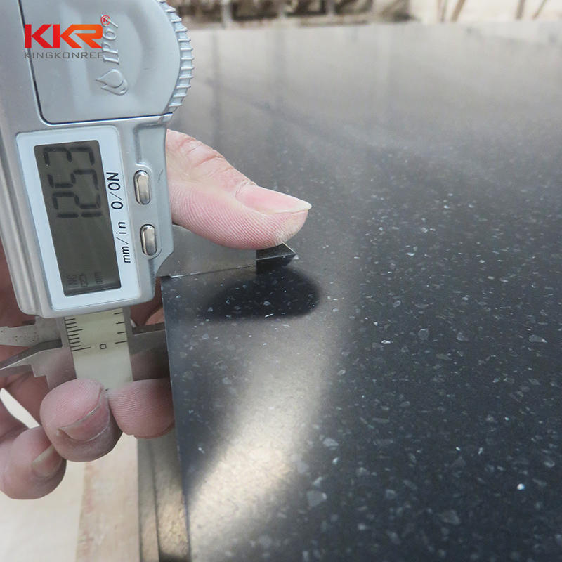 3660mm Length Artificial Stone Solid Surface Sheet with Granules Color KKR-M1675