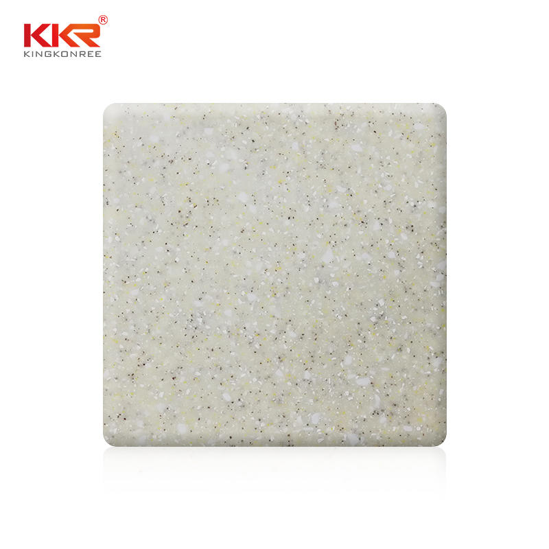 1220mm Width Particle Color Acrylic Solid Surface Sheets KKR-M1677
