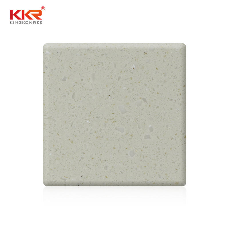 Particles Color Artificial Stone Acrylic Solid Surface Slabs KKR-M1681