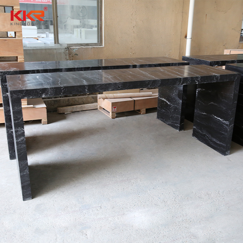 artificial stone dining table-2