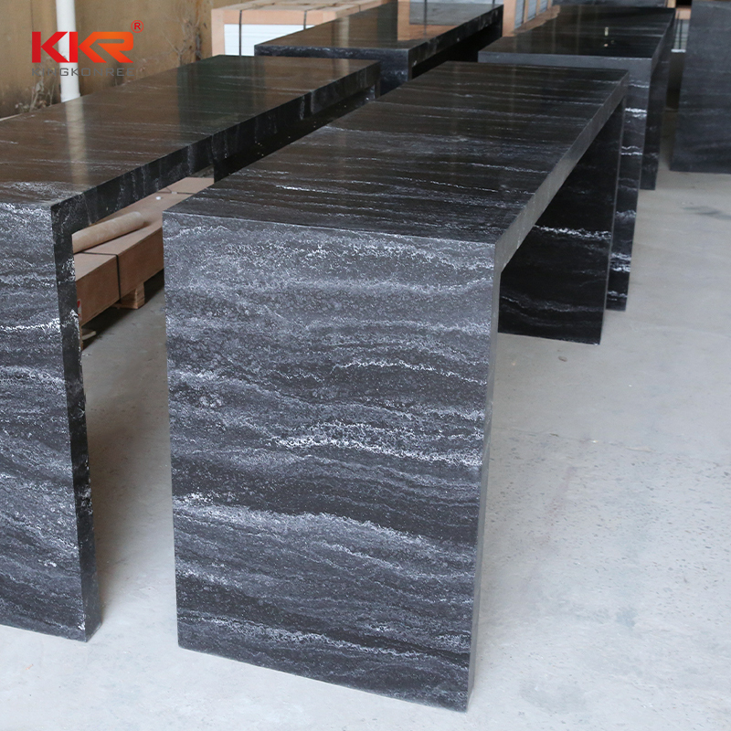KKR Stone solid luxury marble dining table-1