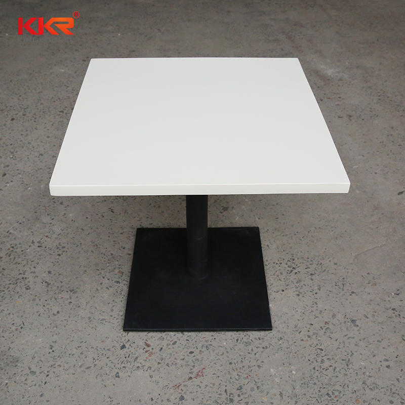 China marble furniture stone top dining table sets solid surface tables for sale