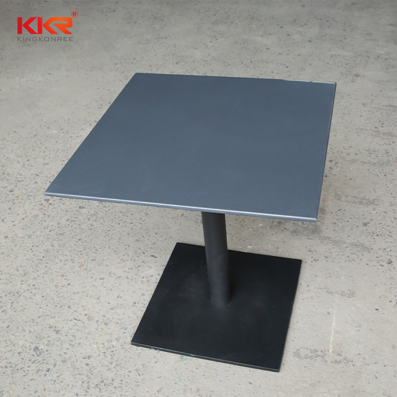 KKR Stone acrylic solid surface table tops-2