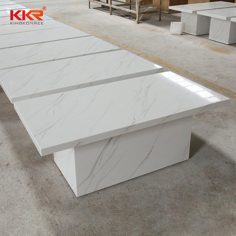 KKR Stone solid solid surface bar tops-1