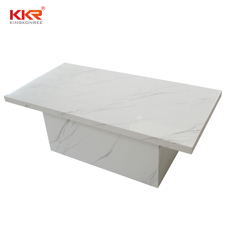 KKR Stone marble dining table round countertops-1