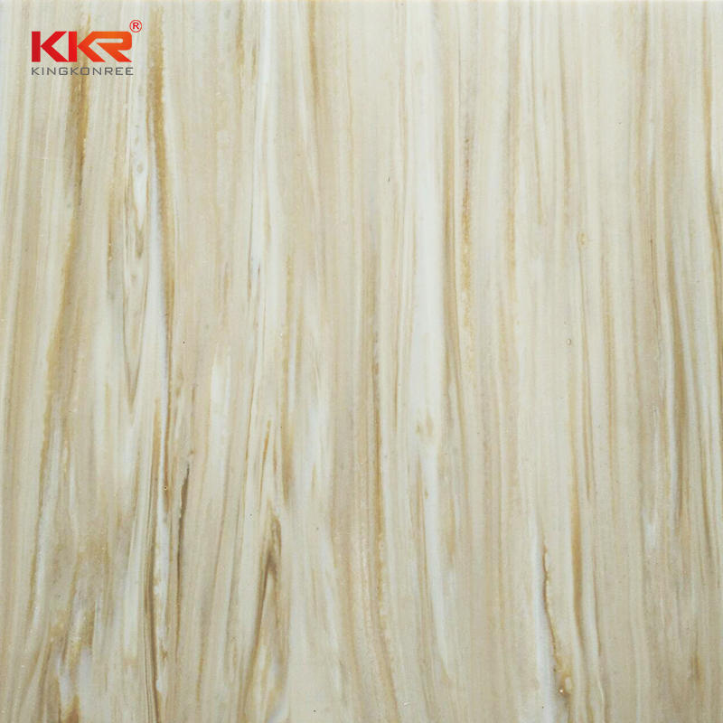 Wholesale price 6mm 12mm 20mm acrylic solid surface plates panel slabs sheet KKR-M8852