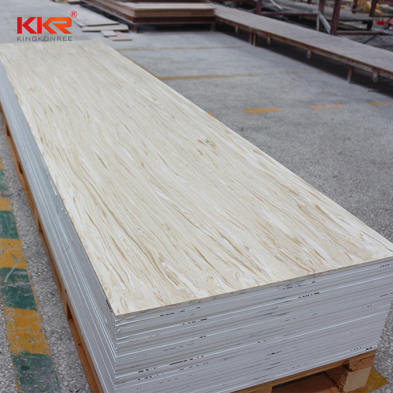 KKR Stone solid solid surface slab effectively for home-2