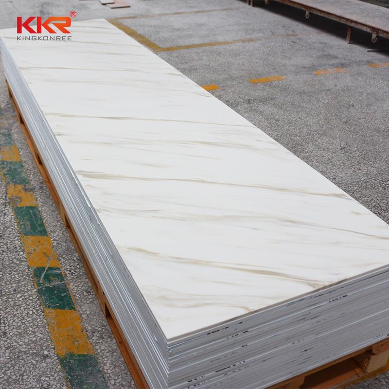 KKR Stone sheets solid surface panels manufacturer for bar table-2
