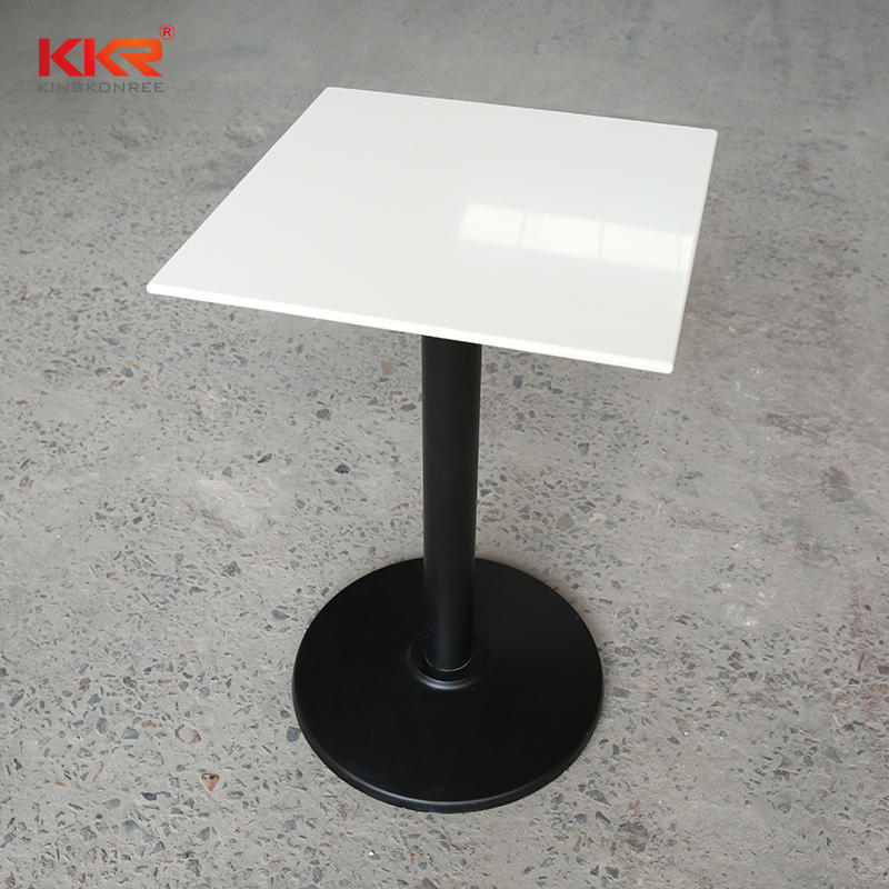 Modern design furniture minimalist solid surface bedside table / tea table