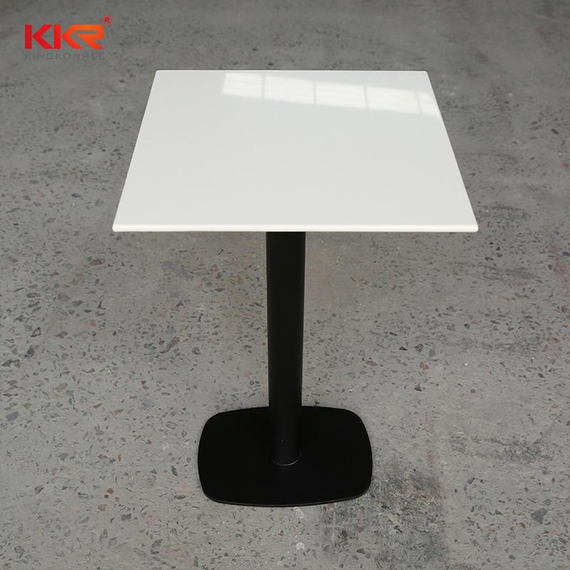 Modern design furniture minimalist solid surface bedside table / tea table