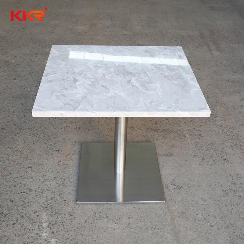KKR Stone acrylic restaurant table-2