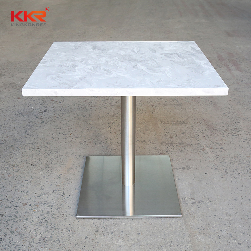 table artificial marble dining table KKR Stone-2