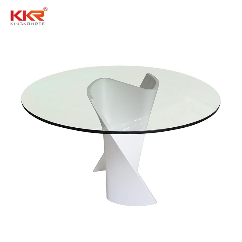 KKR Stone acrylic table set-2