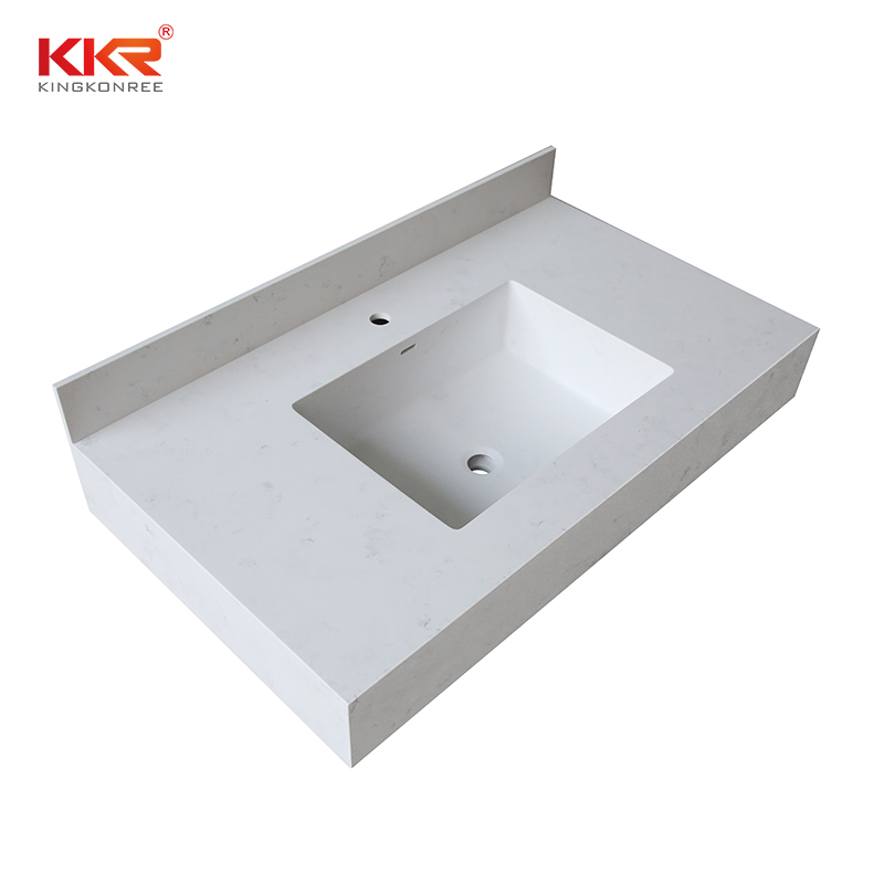 KKR Stone good Quality solid surface bathroom countertops supplier for table tops-1