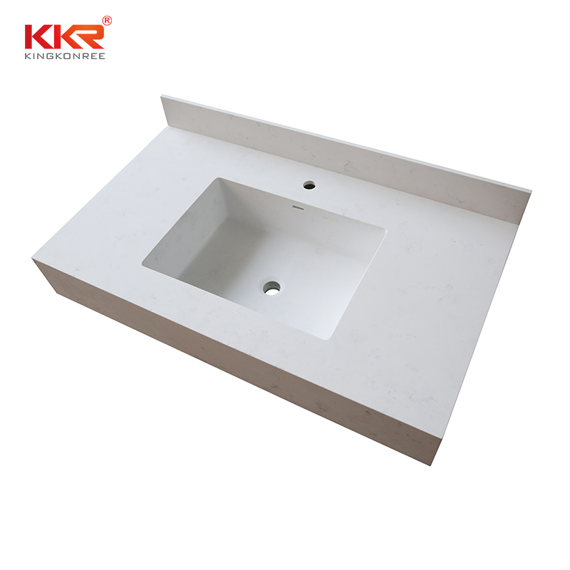 double Sink vanity top bathroom surface popular for home-2