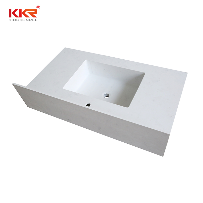 double Sink vanity top bathroom surface popular for home-1
