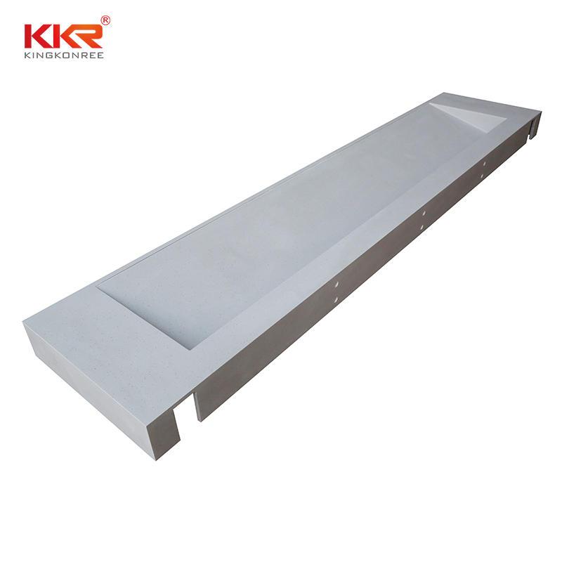 KKR Stone artificial bathroom vanity tops certifications for worktops