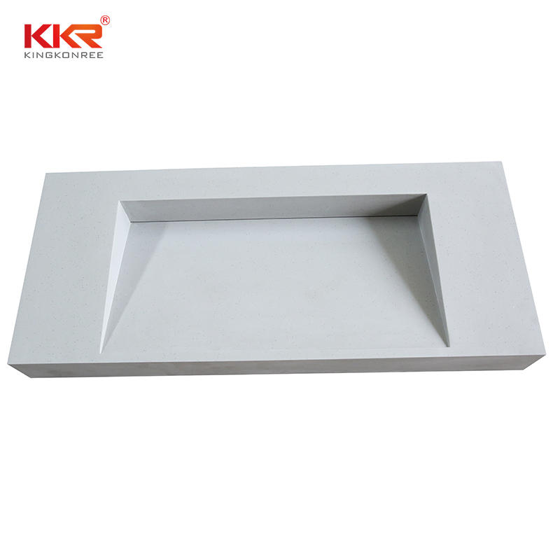 Pure Acrylic Solid Surface Vanity Top,Solid Surface Acrylic Table Top,Bathroom Table Top With Basin