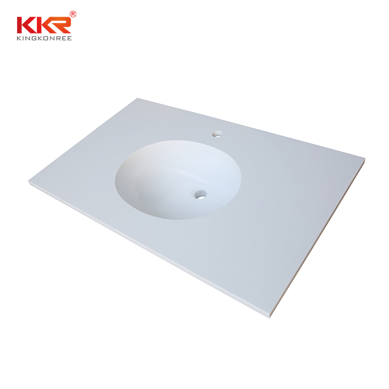 KKR Stone acrylic solid surface bathroom countertops supplier for school building-2