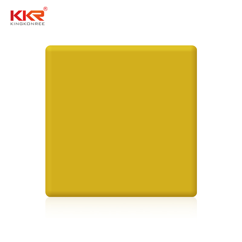 KKR Stone glacier solid surface acrylics superior bacteria for kitchen tops-1