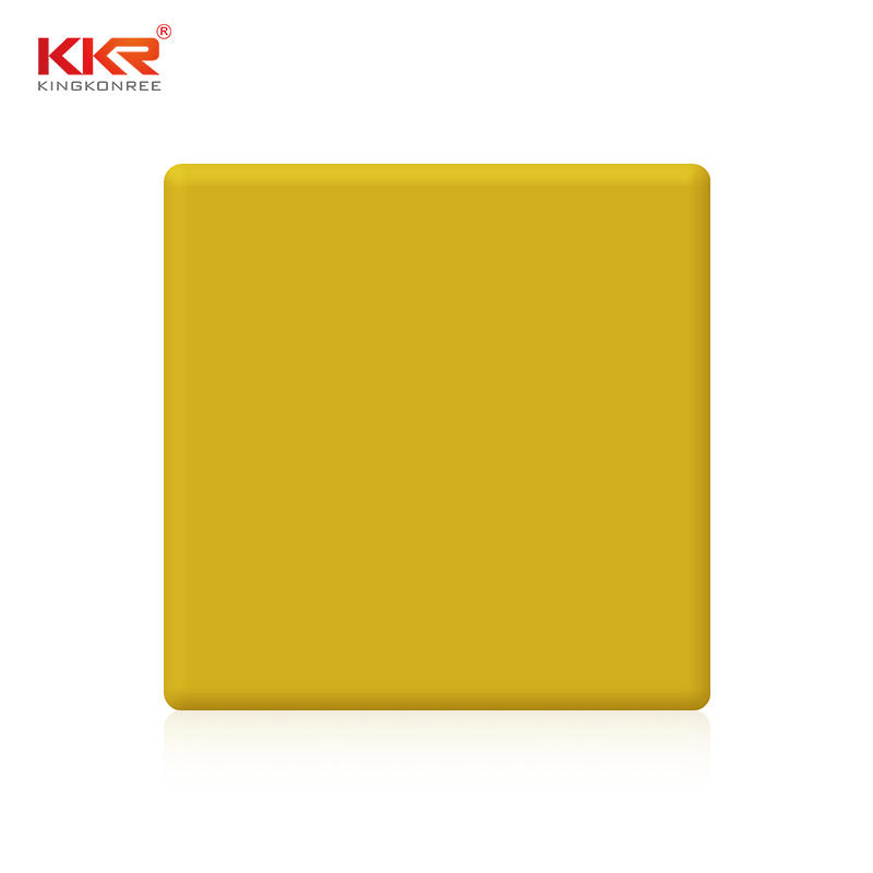 Decoration artificial stone interior wall panel acrylic solid surface KKR-M1703