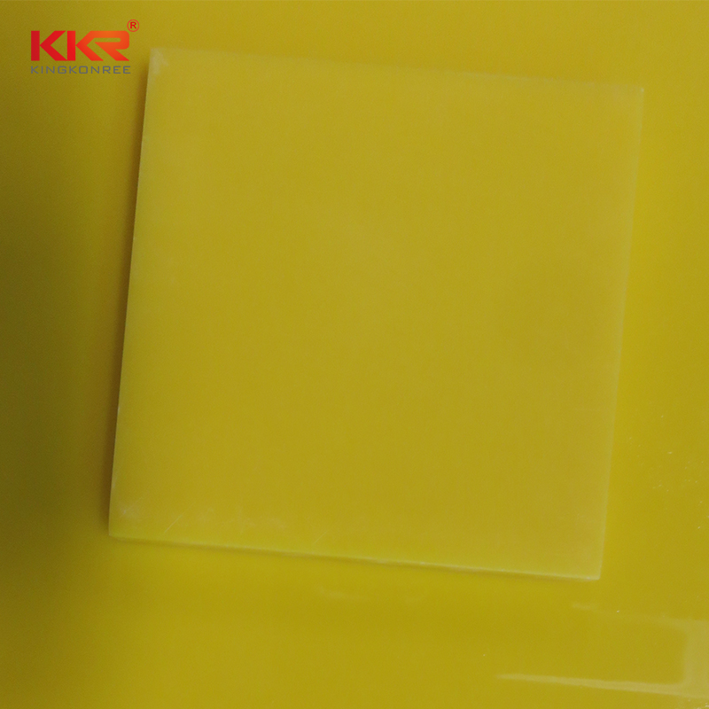 KKR Stone thickness solid surface acrylics superior stain for kitchen tops-2