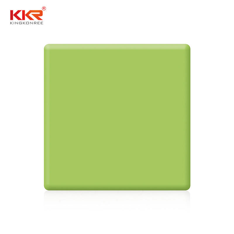 Multifunctional Bended Pure acrylic solid surface sheets KKR-M1705
