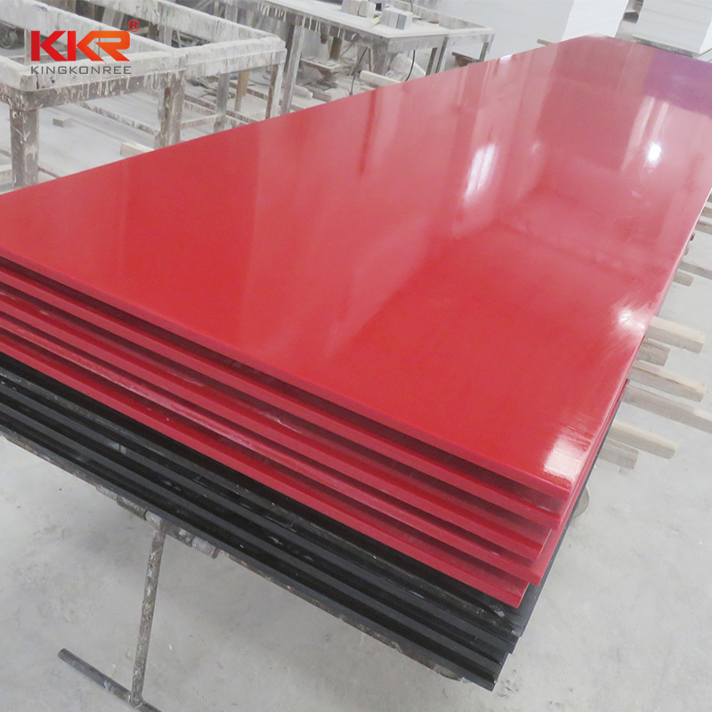 KKR Stone thickness modified acrylic solid surface superior bacteria for worktops-1