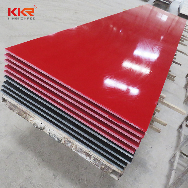 KKR Stone thickness modified acrylic solid surface superior bacteria for worktops-2