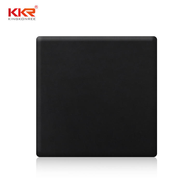 Made In China Black 100% Pure Acrylic Resin Solid Surface Sheets KKR-M1718