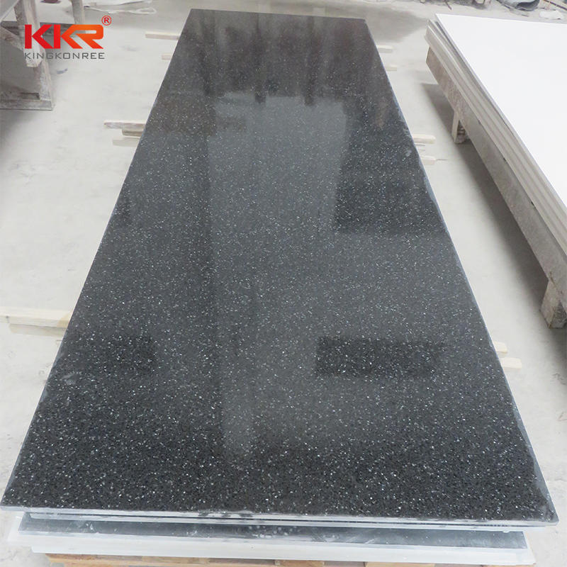 Polymer Solid Surface, Pure Acrylic Solid Surface Sheet, Resin Imitations Stone Panel KKR-M1806