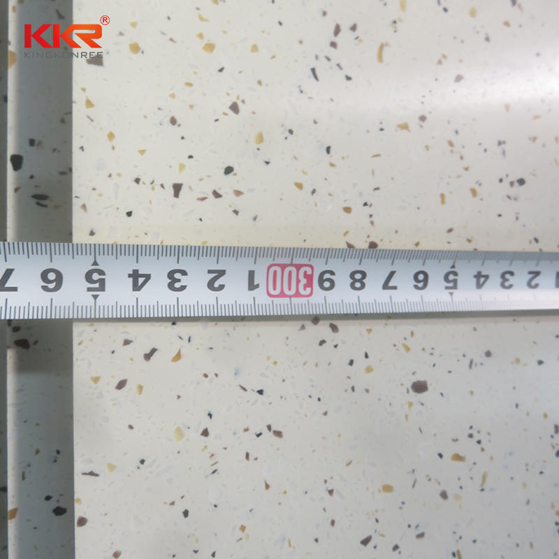 6mm / 12mm Bending Artificial Stone Acrylic Solid Surface Sheets for Countertops / Shower Tray / Vanity Top KKR-M1835