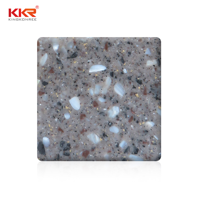 KKR Stone No bubbles solid surface factory superior chemical resistance for worktops-1