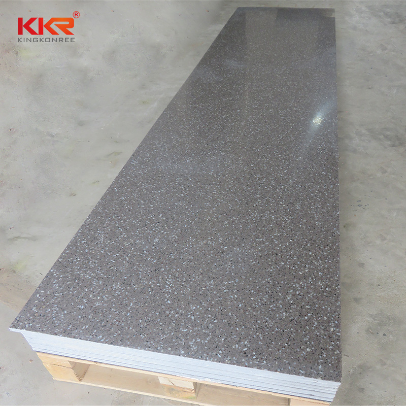 KKR Stone No bubbles solid surface factory superior chemical resistance for worktops-2