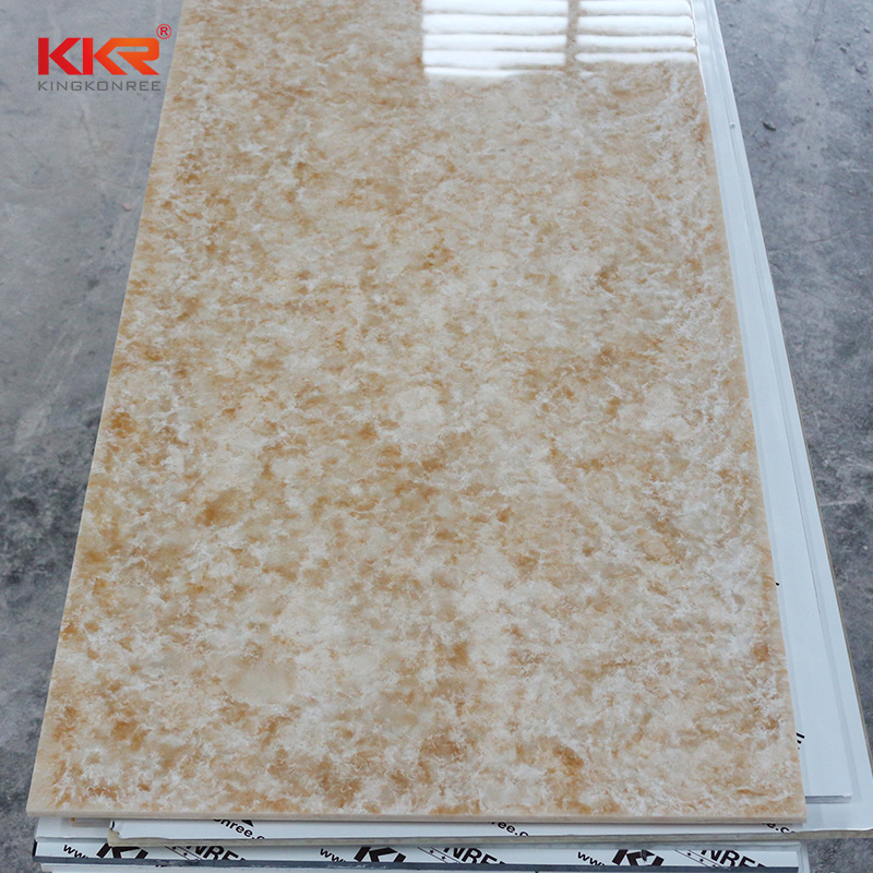 KKR Stone modified corian solid surface sheet wholesale for early education-2