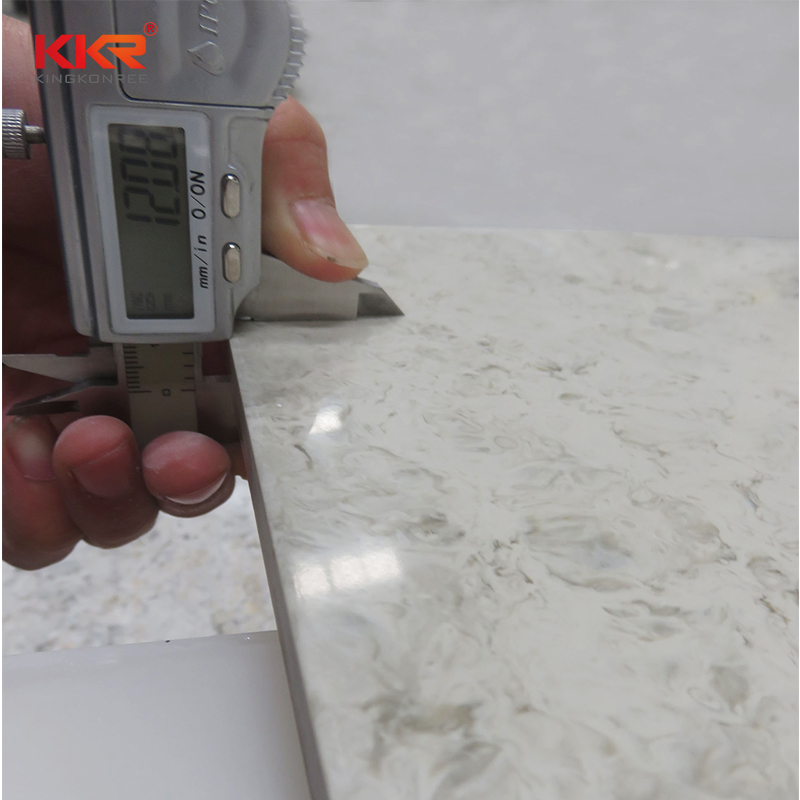 KKR Stone decorative veining pattern solid surface for garden table-2