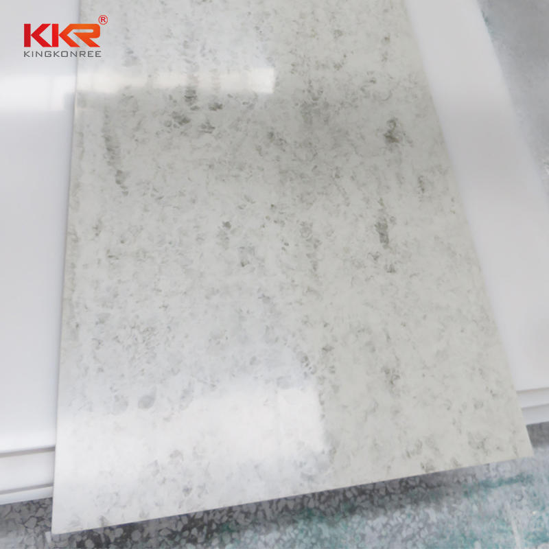 KKR Wholesale modified acrylic solid surface surface solid artificial stone sheets KKR-M8803