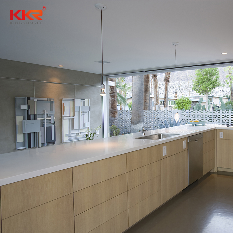KKR Stone quality resin solid kitchen countertops wholesale for shoolbuilding-2