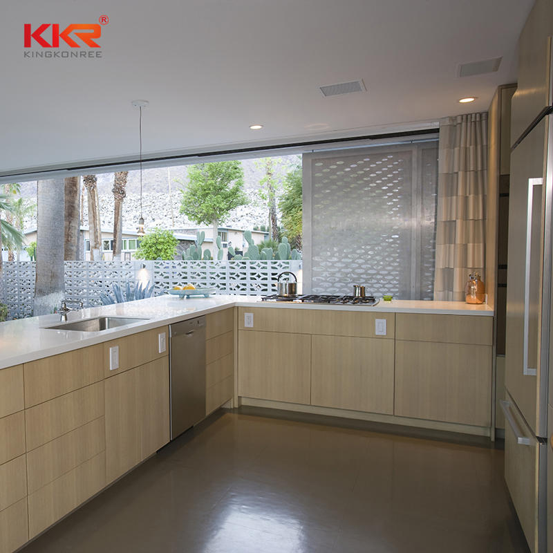 KKR Customized Artificial Stone Marble Kitchen Countertop Stone Solid Surface Countertop