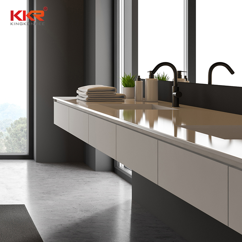pattern bathroom vanity tops clor supplier for school building-1