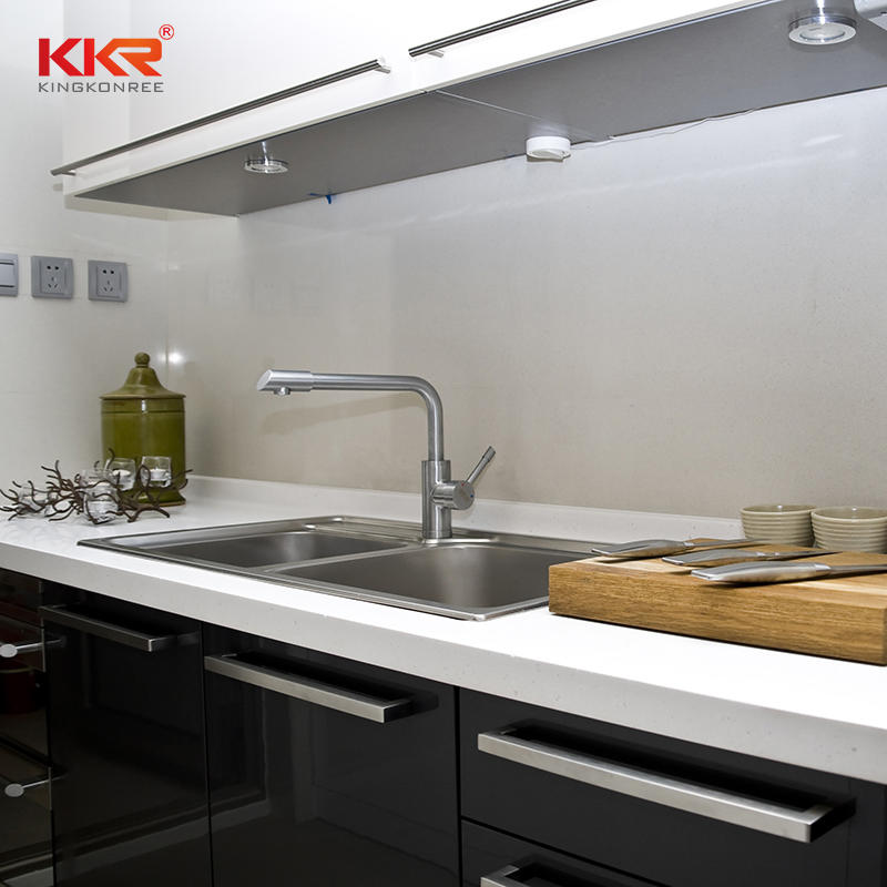 High Quality Customized Faux Stone Solid Surface Acrylic Kitchen Countertop