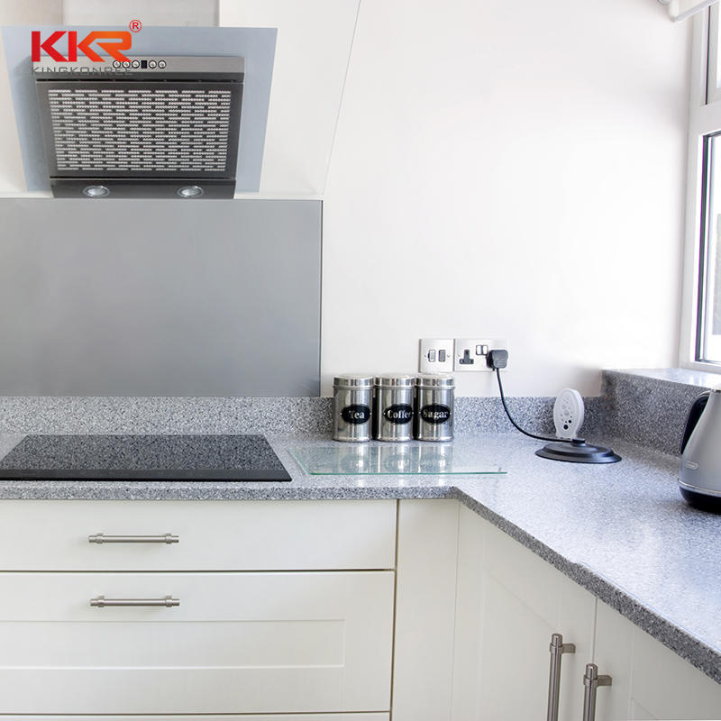 KKR acrylic solid surface kitchen top kitchen countertops solid surface worktop