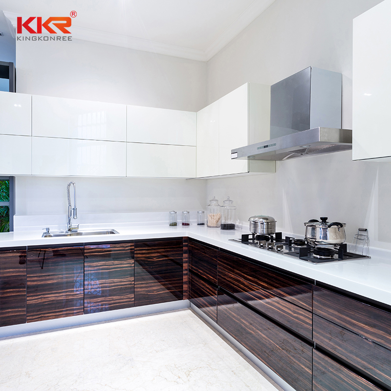 KKR Stone surface solid kitchen countertops wholesale for garden table-2