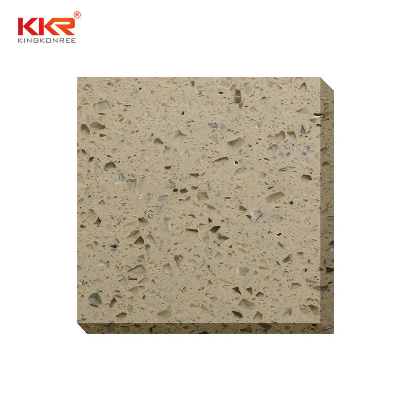 China manufacture wholesale engineered stone product quartz stone slabs KKR-QS020