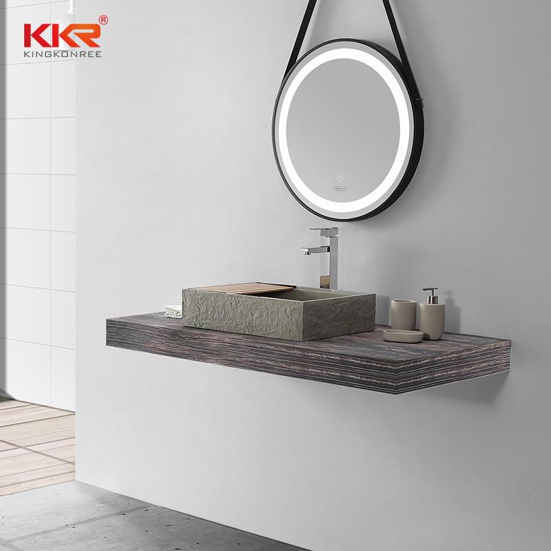 Table Top Basin Solid Surface Hand Rectangular Art Wash Basin