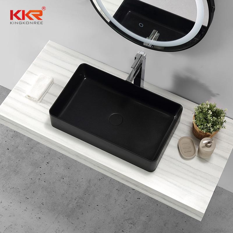 KKR Stone corian kitchen sinks supply for worktops-1