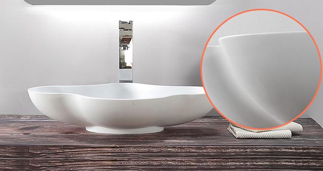 KKR Stone modern bathroom vanity with sink bulk production for table tops-4