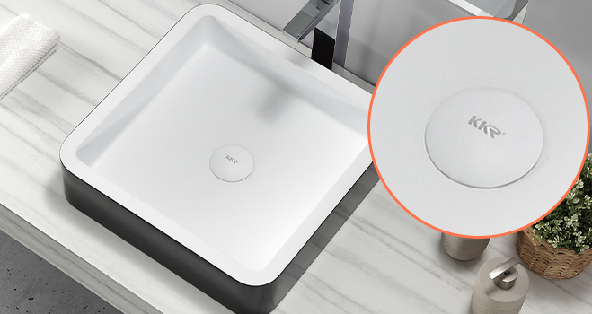 easy to clean corian bathroom sinks in special shapes for table tops-4