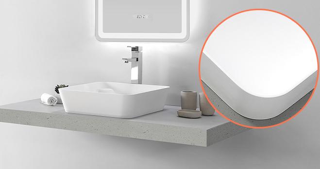 KKR Stone corian vanity tops custom-design for home-5